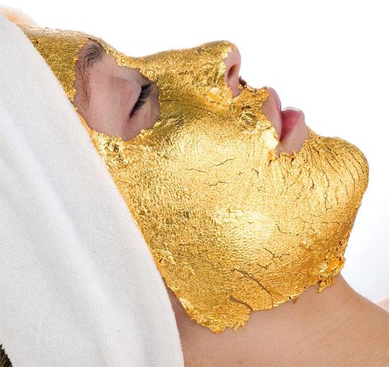 มาร์กหน้าทองคำ