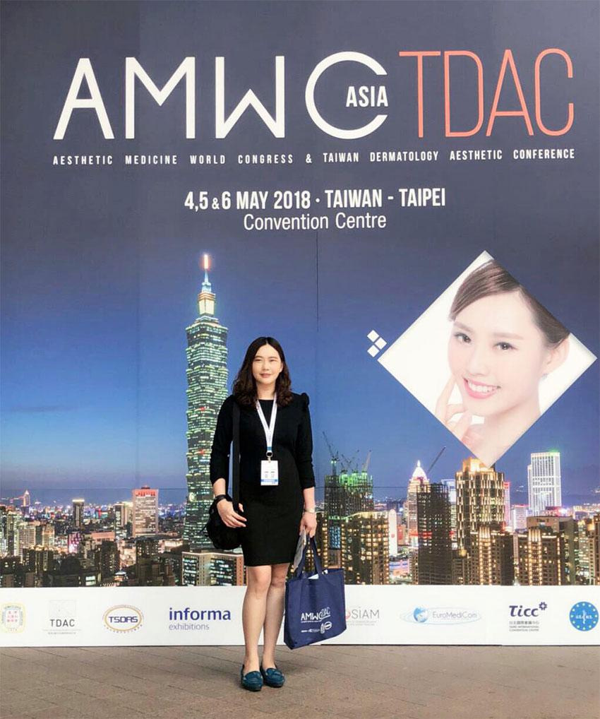 Sinota Clinic ส่งแพทย์เข้าร่วมงาน AMWC Asia TDAC 2018