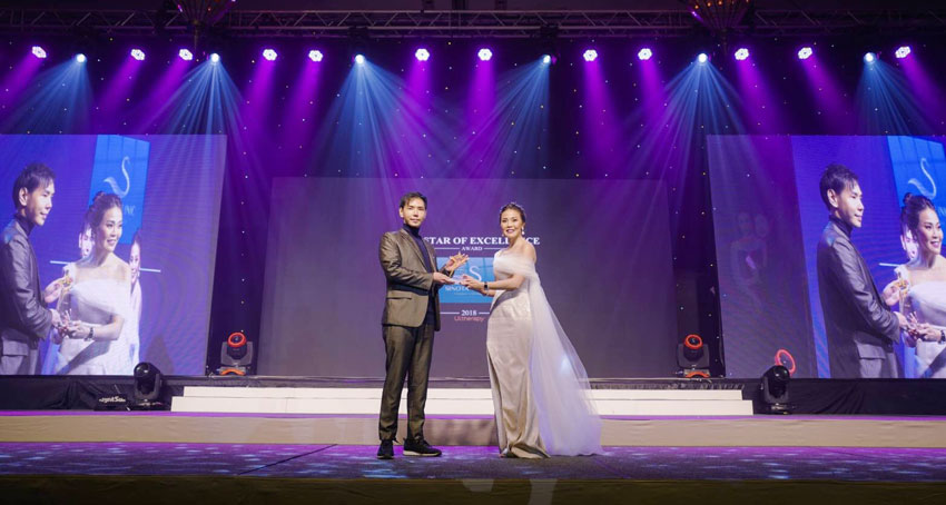 Sinota Clinic รับรางวัล (Ultherapy 2018 The Star of Excellence Award)